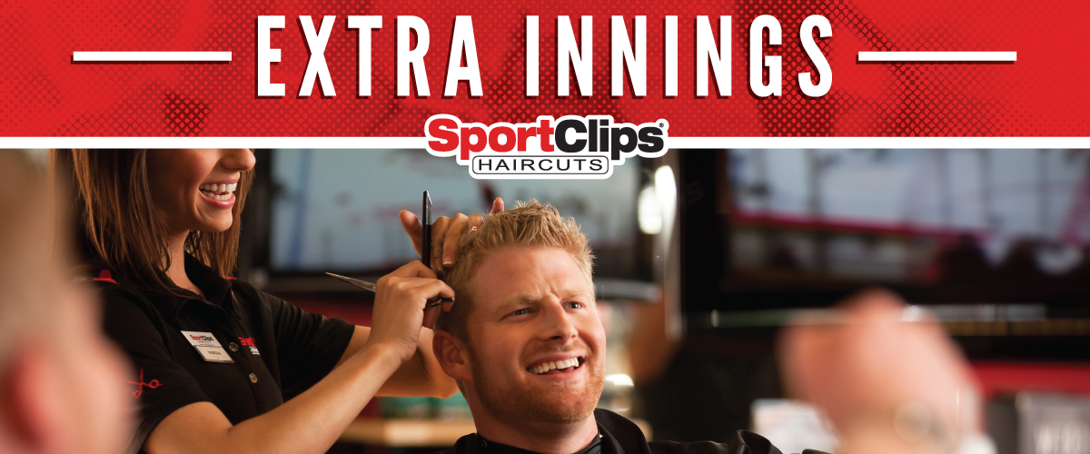 The Sport Clips Haircuts of Rangeline Extra Innings Offerings