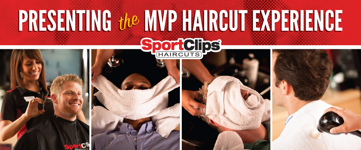 The Sport Clips Haircuts of Rangeline MVP Haircut Experience