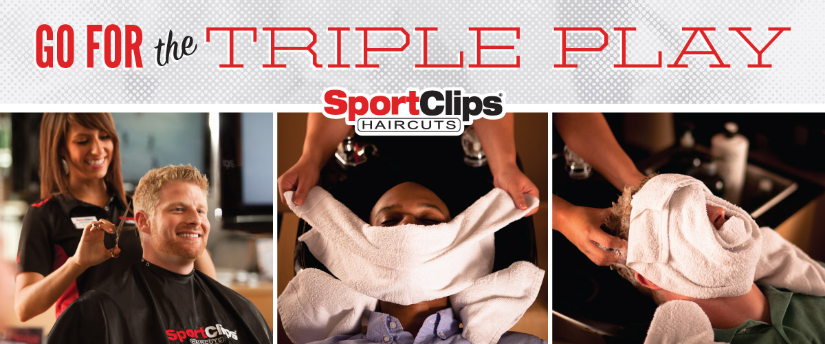 The Sport Clips Haircuts of Rangeline Triple Play